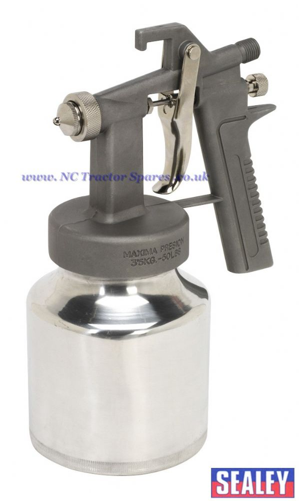 Spray Gun Low Pressure Suction Feed 1.3mm Set-Up